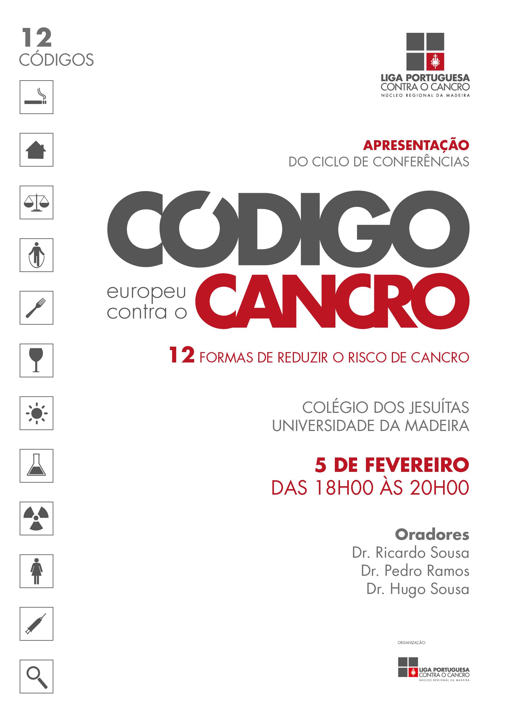 7e21d0252 101Ciclo de Conferências dedicadas ao Código Europeu Contra o Cancro